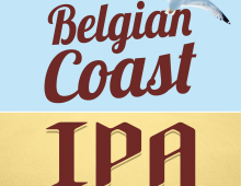 New Belgian Coast IPA from the Brasserie St-Feuillien
