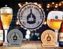 Brasserie St-Feuillien wins a silver medal and a certificate of excellence at the Brussels Beer Challenge!